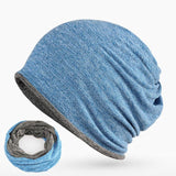 BestBuySale Skullies & Beanies 2017 New Beanies Collar Scarf Hats for Men - 7 Colour