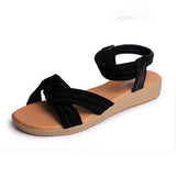 BestOnlineWomen Flats Sandals Fashion Casual Beach Sandals Bohemian Fashion Summer Shoes