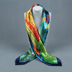 BestOnlineWomen's Fashion Flower Pattern Polyester Scarves - 10 Colours