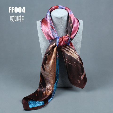 BestBuySale Scarves Women's Fashion Flower Pattern Polyester Scarves - 10 Colours