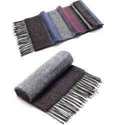 BestBuySale Scarves Men's Warm Cashmere/Wool Winter scarves - 6 Colours