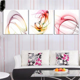 BestBuySale Paintings 3 Piece Set Modern Abstract Wall Art Canvas Oil Painting