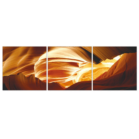 3 Piece Set Modern Abstract Wall Art Canvas Oil Painting