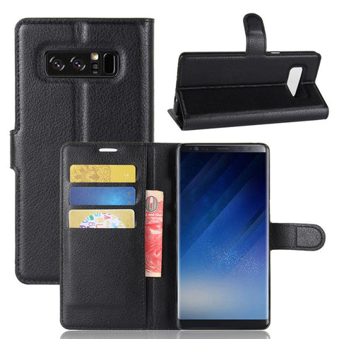 BestBuySaleRetro Flip Cover Wallet Case for Samsung Galaxy Note 8