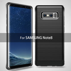BestOnlineTPU Soft Silicone Armor Case Protective Cover For Samsung Galaxy Note 8