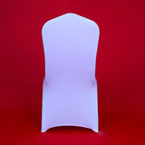 100 Pieces Cheap Wholesale Universal White Chair Covers