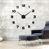BestOnlineFashion DIY Wall Clock-Red,Black,Gray,Blue,Pink,Silver,Gold,Multi,Chocolate