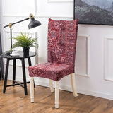 BestBuySale Chair Covers Geometric Colorful Print Chair Cover - 24 Designs