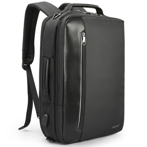BestBuySaleMulti-functional Backpack For 15.6 inch Laptop - Black,Dark Grey