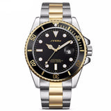 BestBuySale Watch Fashion Luxury Men's  Stainless Steel Band With Date Display