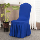 BestBuySale Chair Covers Solid Color Stretch Chair Covers