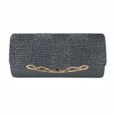BestOnlineShiny Women's Clutch Bag - Black,Blue,Brown,Gold,Gray,Red,Silver