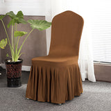 BestBuySaleSolid Color Stretch Chair Covers