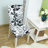 BestOnlineFloral Pattern Spandex Chair Cover