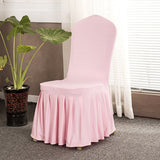 BestOnlineSolid Color Stretch Chair Covers