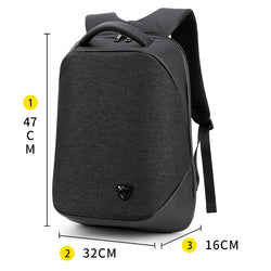 BestBuySale Backpack Waterproof High Capacity Smart Backpack For School/Business/Travel - Black,Blue,Brown