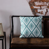BestBuySale Cushion Covers Embroidered Blue Geometric Pillow Cushion Cover - 45x45cm - 10 Designs
