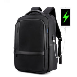 BestBuySale Backpack Men 's Waterproof  College/School Backpack -Black,Blue,Gray
