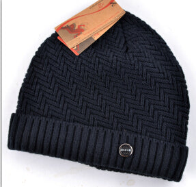 BestBuySaleMen's Knitted Winter Beanie - Black,Red,Khaki,Crimson,Brown