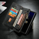 BestBuySale Cases Luxury Leather Wallet Case For Samsung Galaxy Note8 - Black,Blue,Brown,Red