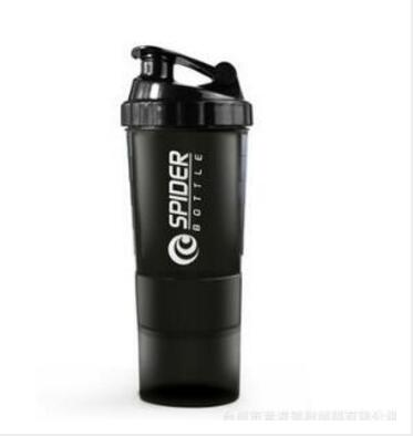 BestBuySaleProtein shaker Bottle With 3 Layers - Black,Green,Purple,Red,White