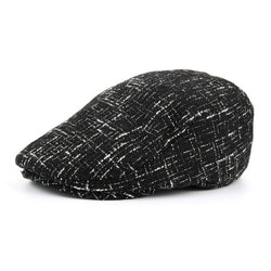 BestBuySale Beret Hat Men's Cotton Winter Beret Hat - Black,Navy,Grey