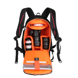 BestOnlineMultifunctional Waterproof Camera Backpack - Black,Orange