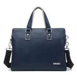 BestOnlineMen's Fashion Business Briefcase Bag - Black,Blue