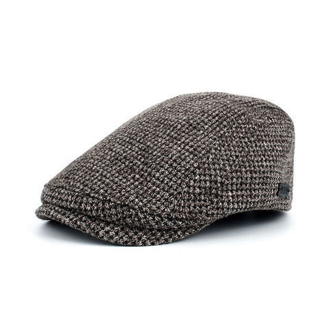 BestOnlineFashion Winter Cotton Beret Hat For Men-Coffee,Black,Beige