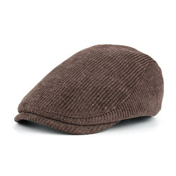 BestBuySale Beret Hat Fashion Men's Winter Cotton Beret Hat - Navy,Black,Coffee,Khaki,Grey