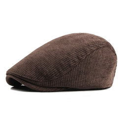 BestBuySale Beret Hat Men' Fashion Winter Beret Hats - Khaki,Black,Dark Blue,Coffee
