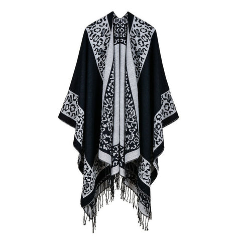 BestOnlineWinter Women's Fashion Poncho Scarf - 8 Colors