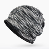 BestBuySaleMen's Fashion Winter Beanies/Collar Scarf with Velvet Inside
