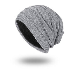 BestOnlineMen's Fashion Knitted Winter Beanies - Black,Grey,Khaki,Navy,Burgundy