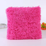 BestBuySale Cushion Covers 43*43cm Solid Color Soft Pillow