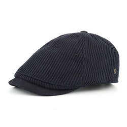 BestOnlineWinter Cotton Peaked Beret Cap For Men - Grey,Black,Navy,Coffee