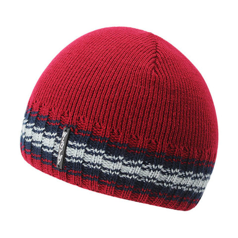 BestBuySaleFashion Knitted Beanie Hats for Men with Velvet Inside - Red,Gray,Blue,Coffee,Black