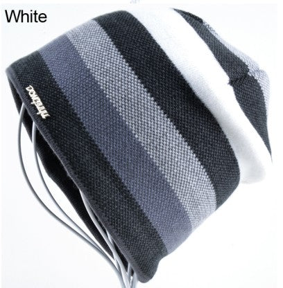 BestBuySale Skullies & Beanies Knitted Wool Beanies Hats for Men - White,Red,Yellow,Brown