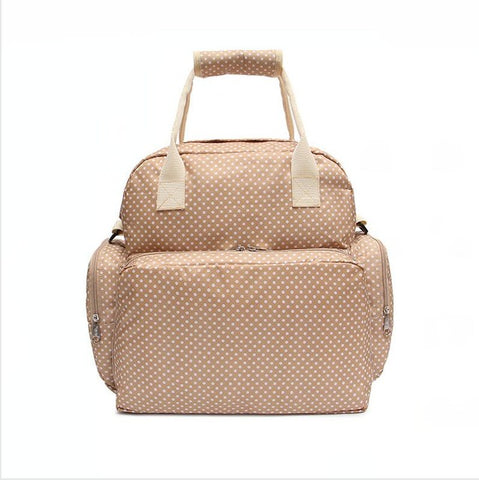 BestOnlineLarge Capacity Diaper Bag  - Beige,Black,Brown,Red