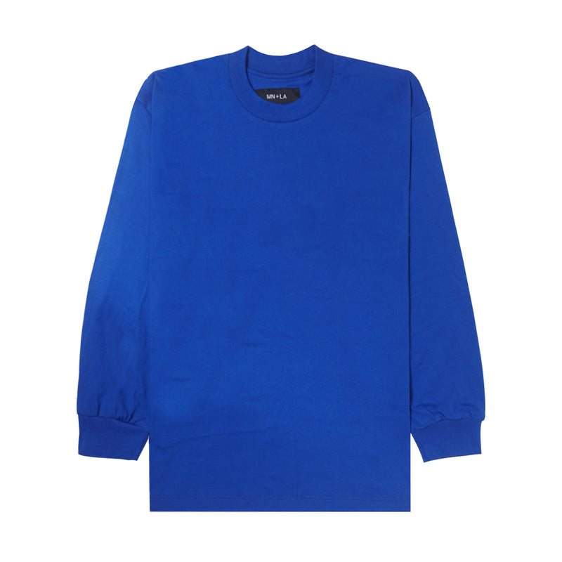 ELECTRIC BLUE LONGSLEEVE TEE