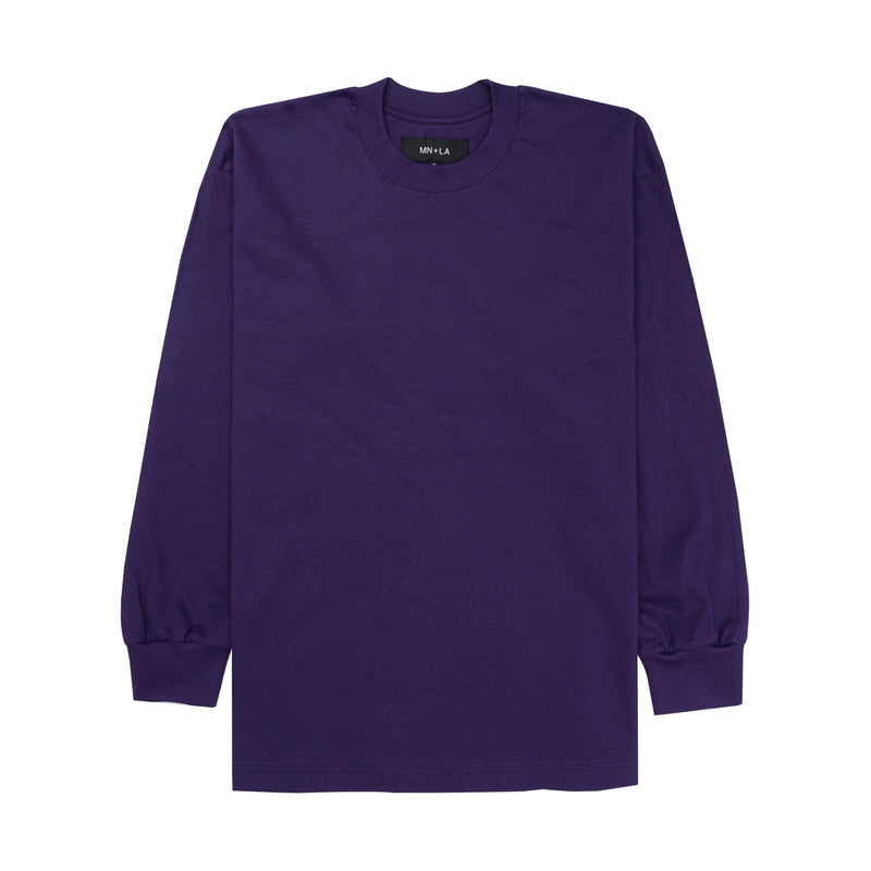 PURPLE LONGSLEEVE TEE