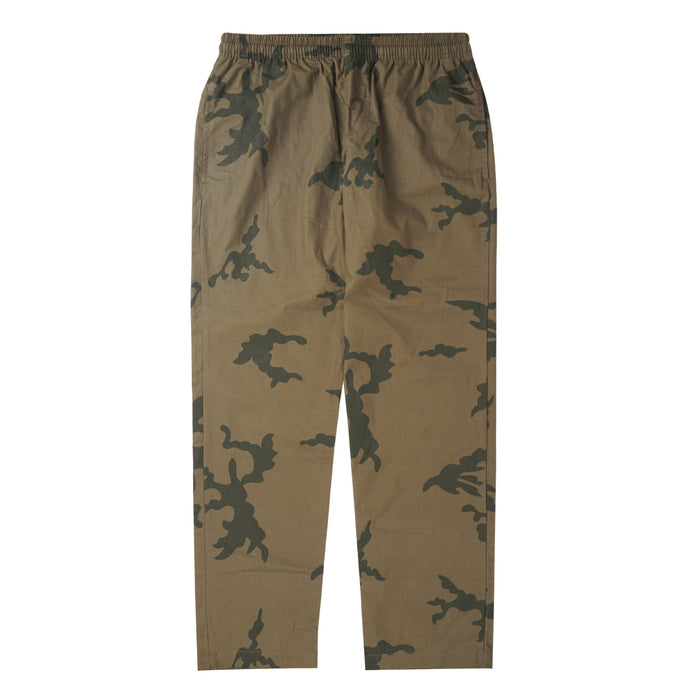 LIGHTWEIGHT CAMO WIDE LOUNGE PANTS