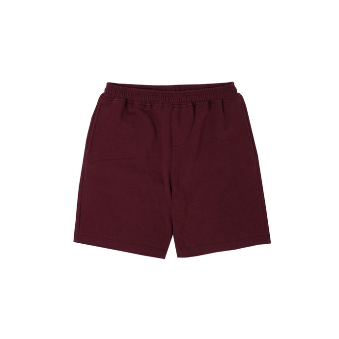 WINE RAW HEM SHORTS