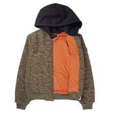 HOODED BOMBER JACKET (TS PACK)