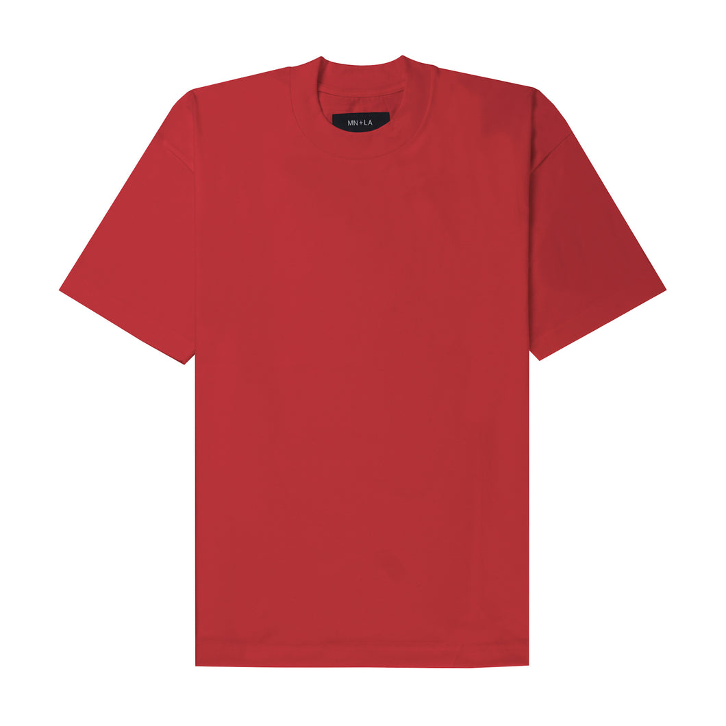 FADED RED BOX TEE