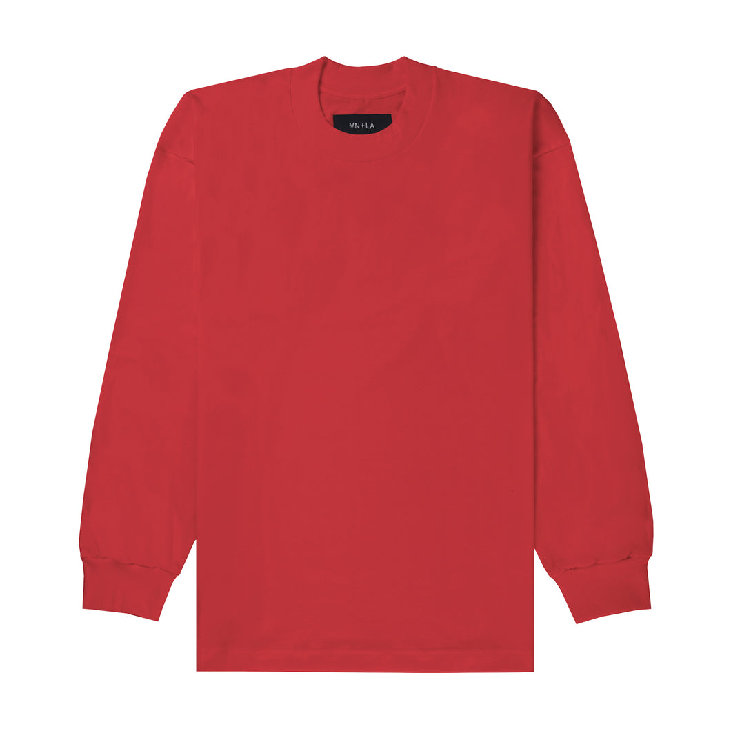 FADED RED LONGSLEEVE TEE
