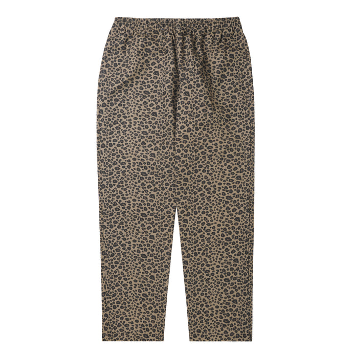 BEIGE CHEETAH WIDE LOUNGE PANTS