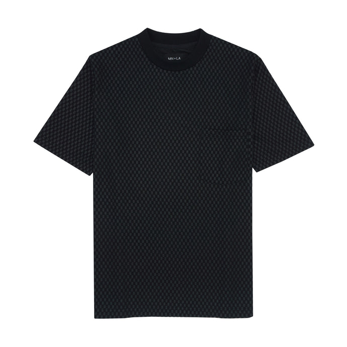 STEALTH CHECKERBOARD POCKET TEE