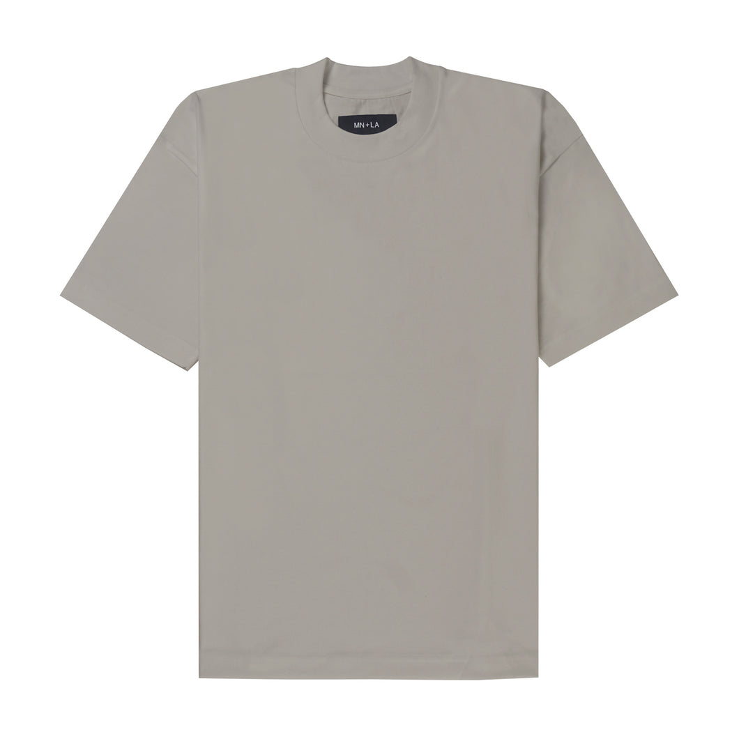 DARK TAN BOX TEE