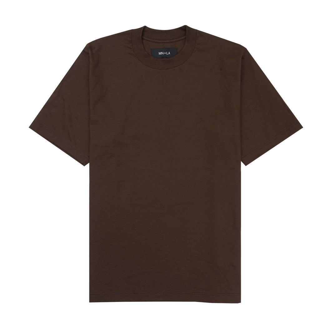 BROWN OVERSIZED TEE